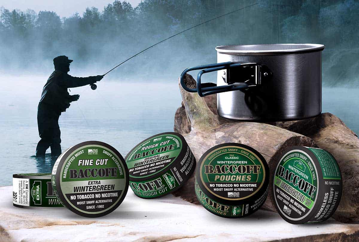 Wintergreen rough cut fake dip