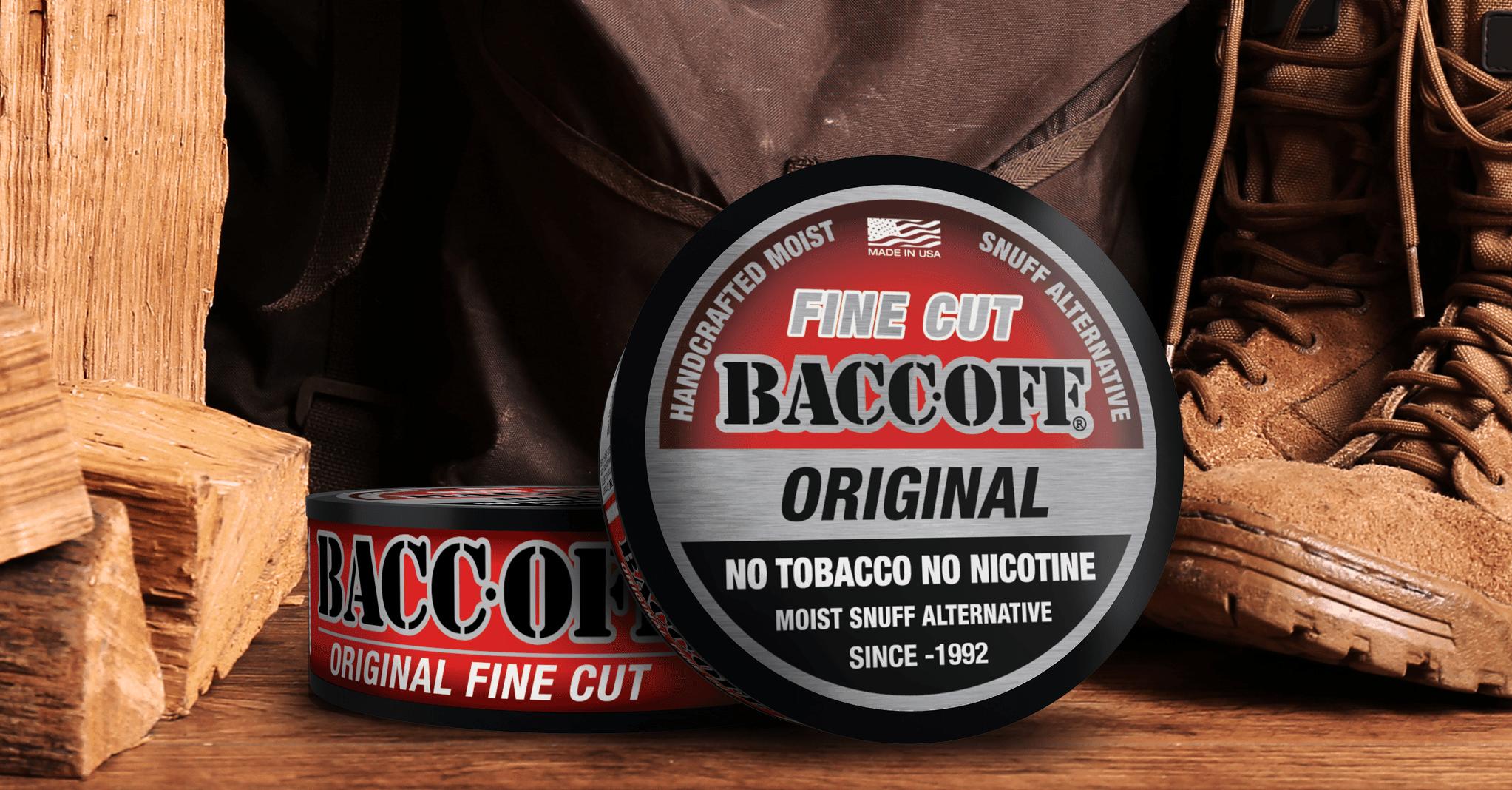 baccoff original fine cut dip