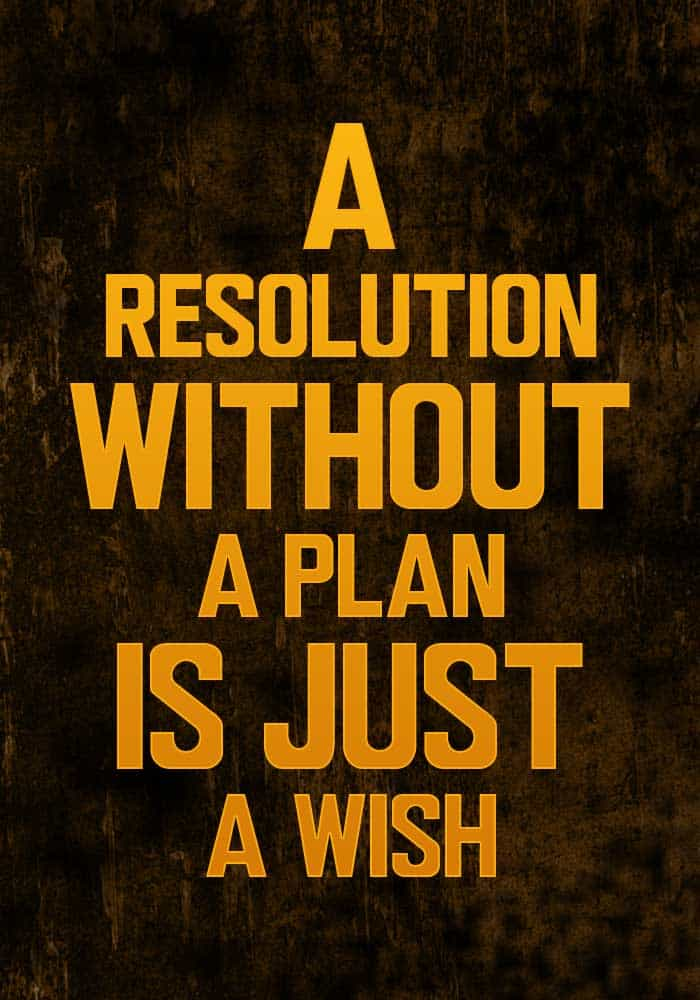 quit dipping resolution