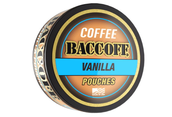 baccoff vanilla coffee pouches
