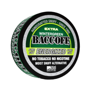 BaccOff Wintergreen Pouches: Quit Chewing w/ tobacco free