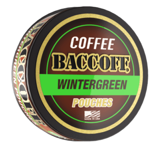 baccoff wintergreen coffee pouches