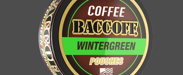 baccoff wintergreen coffee pouches