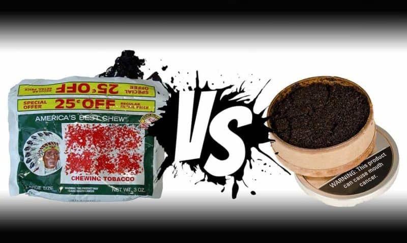 Chewing Tobacco vs Dip