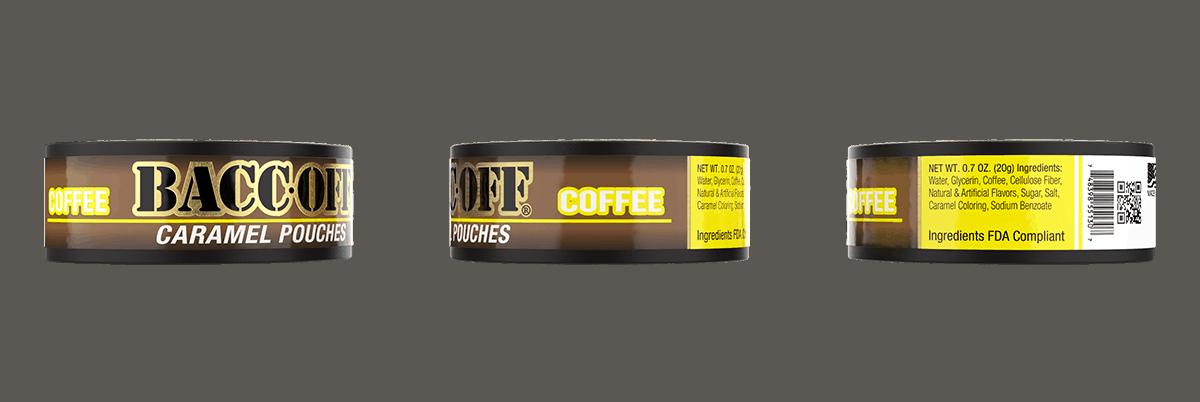 caramel coffee pouches