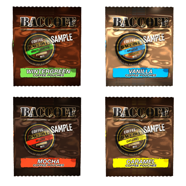coffee pouches samples