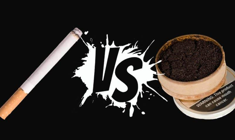 smoking vs dip