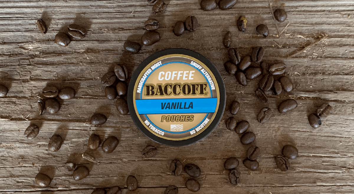 baccoff vanilla coffee pouch